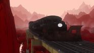 Train MMX9 Black Trailer