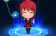RWBY Crystal Match Pyrrha Nikos' Beacon uniform