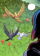 RWBY DC Comics 5 (Chapter 10) Ruby encounters three birds