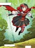 RWBY DC Comics 5 (Chapter 10) Ruby's resolves to protect her love ones