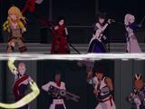 Team RWBY vs. Ace-Ops