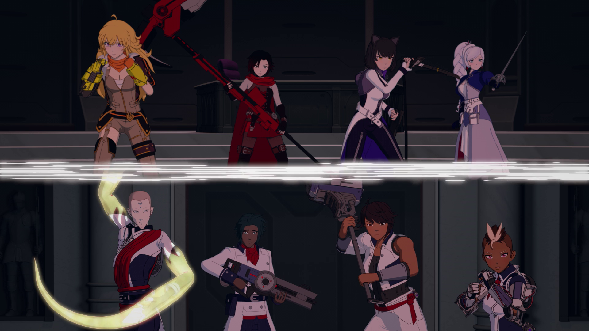 Team RWBY vs. Ace-Ops | RWBY Wiki | Fandom