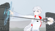 Weiss now starts to cast