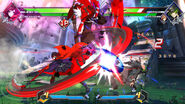 BBTAG character gameplay screenshot of Ruby Rose 00002