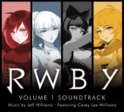 RWBY Volume 1 Soundtrack Cover