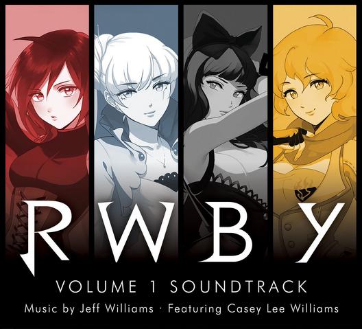 ファイル:RWBY Volume 1 Soundtrack Cover.png