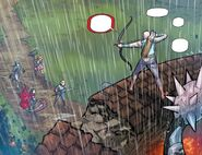 RWBY DC Comics 3 (Chapter 6) A villager stopped Team RNJR from helping them