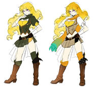 Yang Xiao Long - Sketches
