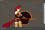 Pyrrha fight production