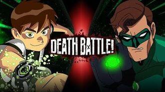 Ben 10 vs Green Lantern (Cartoon Network VS DC Comics) DEATH BATTLE-1