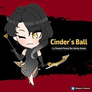 Amity Arena Cinder's Ballroom Outfit design by Pocket Penny