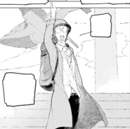 Chapter 14 (2018 manga) Oobleck ready to go to Team RWBY's first mission