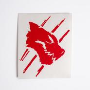 RWBY White Fang Emblem Vinyl Decal