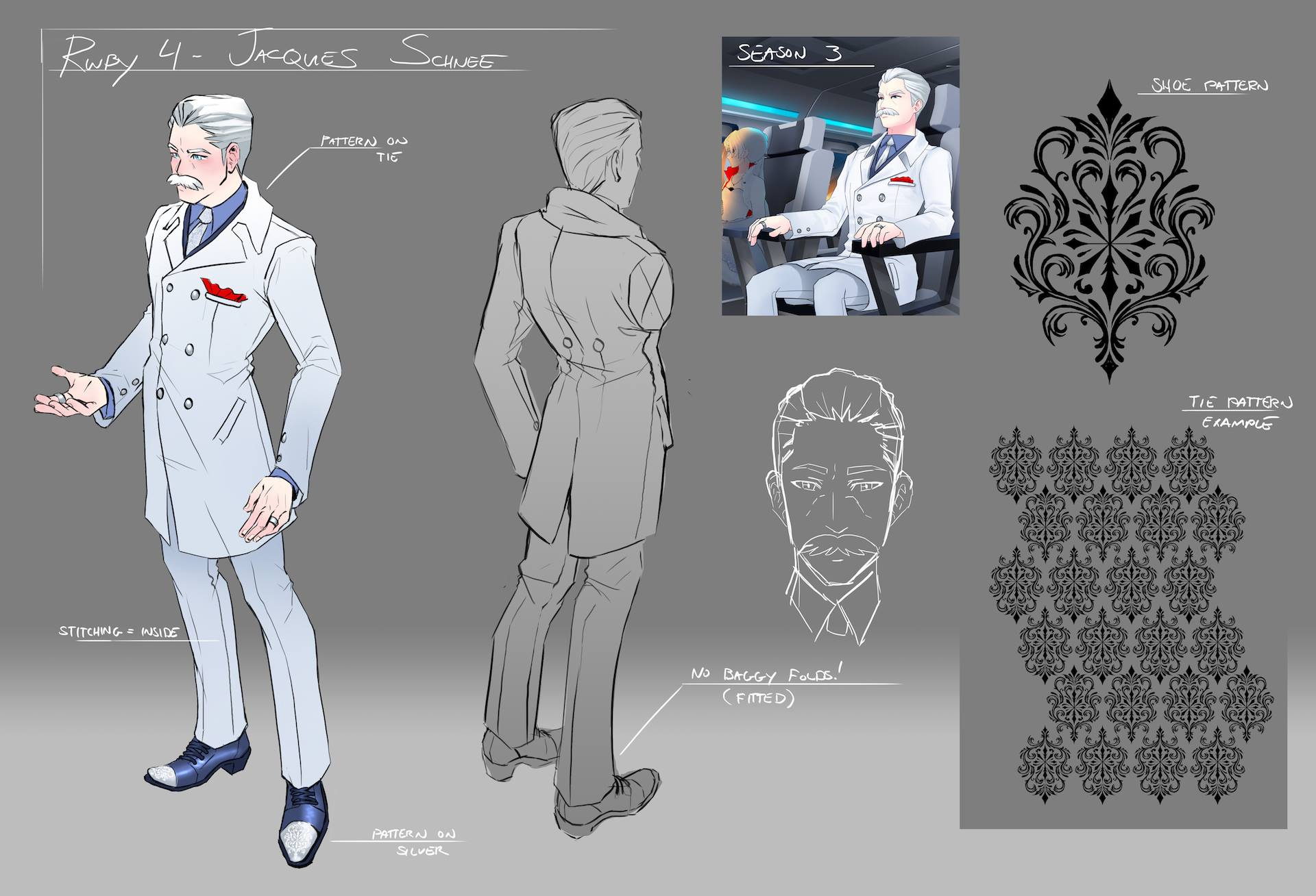 Jacques Schnee/Image Gallery | RWBY Wiki | FANDOM powered ...