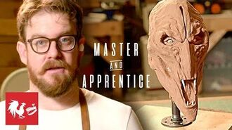 Making a Creature From Raised by Wolves Master and Apprentice Prop Drops