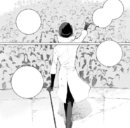 Chapter 10 (2018 manga) Roman gives a speech to the White Fang recuits