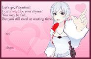 Weiss valentine