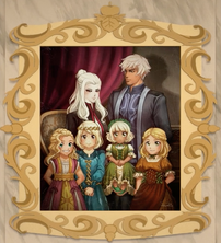 Salem ozma daughters family painting
