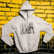 Limited Edition RWBY Blake and Yang Sketch Hoodie