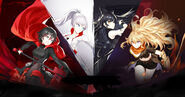 Rwby bilibili website background