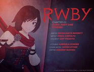 RWBY DC Comics 1 (Chapter 2) introduction cover