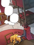 RWBY DC Comics 4 (Chapter 7) Ruby comforts Yang