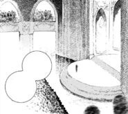 Chapter 1 (2018 manga), ampitheatre