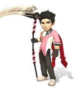 Amity Arena Crow Qrow's Dandy Model