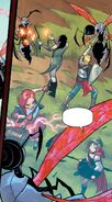 RWBY DC Comics 1 (Chapter 2) Team RNJR fights a horde of Lancers 02
