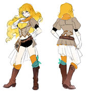 Yang Xiao Long - Sketches2