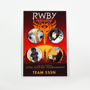 RWBY Vytal Button Pack 3 - Team SSSN
