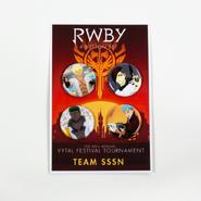 RWBY Vytal Button Pack 3 - Team SSSN