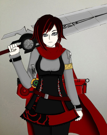 Ruby rose carry the legacy by lobbyrinth