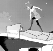 Chapter 8 (2018 manga) Penny on top of a Bullhead