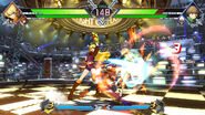 BBTAG character gameplay screenshot of Yang Xiao Long 00002