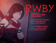 RWBY DC Comics 5 (Chapter 10) introduction cover