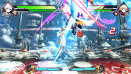 BBTAG character gameplay screenshot of Weiss Schnee 00001