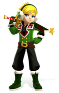 Amity Arena Jaune's Christmas Model