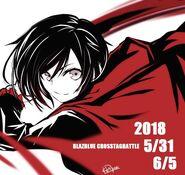 Ruby Rose (BlazBlue Cross Tag Battle Illustration, Mori)