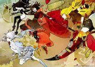 RWBY The Official Manga Vol 1 Team RWBY artwork
