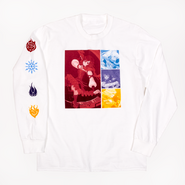 RWBY Color Block Long Sleeve T-Shirt