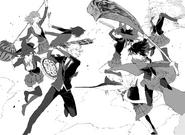 Chapter 9 (2018 manga) Team RWBY vs Team JNPR