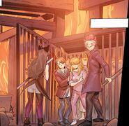 RWBY DC Comics (Chapter 4) Blake and Adam freed the other Faunus in prison