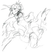 RWBY rough drawing works by Shirow Miwa 07