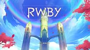 RWBY (Full Game, 2019) Title Screen