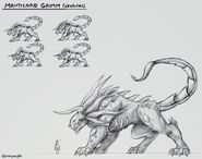 Manticore original concept art