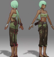 Young Emerald Concept Art