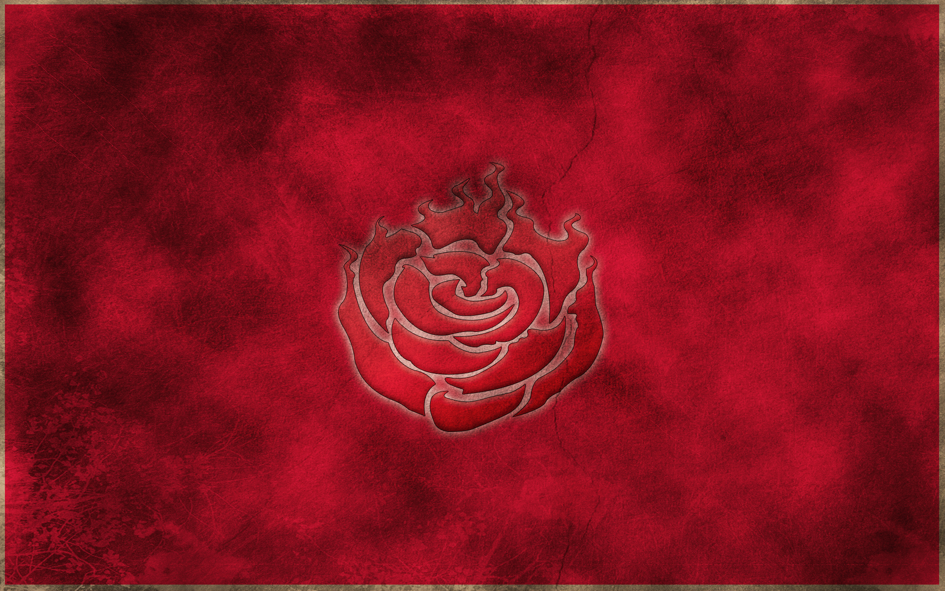 Rwby Ruby Rose Symbol Wallpaper By Crypticspider D7fz6qp
