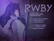 RWBY DC Comics 2 (Chapter 4) introduction cover