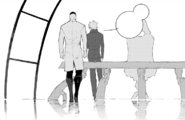 Chapter 14 (2018 manga) Ozpin and Ironwood discussion about Team RWBY